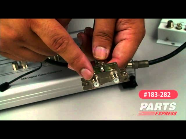 Channel Vision P-0328 Affinity Digital Cable Combiner