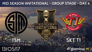 TSM vs SKT T1 - 2017 Mid-Season Invitational - Group Stage Day 4 - League of Legends