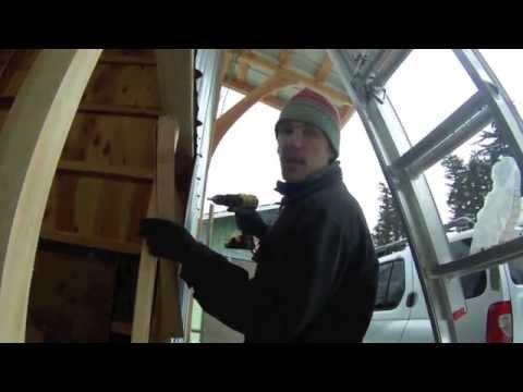 Hangar Style Bi-fold Garage Door (DIY)