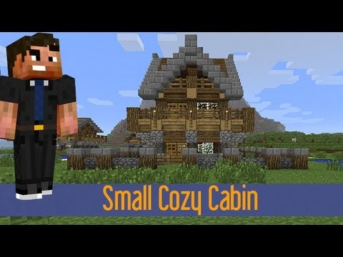 How To Build A Log Cabin In Minecraft Pe