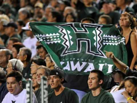 Hawaii Warriors vs.Nevada Wolf Pack 2009 Football Recap Video