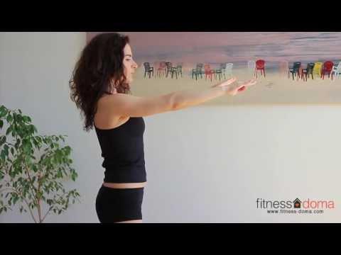 Упражнения для правильной осанки за 7 минут. Обучающее видео.