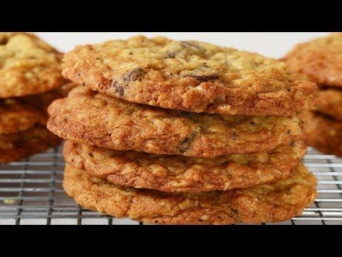Crispy Oatmeal Cookies Recipe Demonstration - Joyofbaking.com
