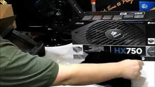 [UNBOXING] - FONTE CORSAIR HX750 80plus Gold PSU