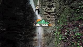 Canyoning en Arroyo Chico, Espaillat, República Dominicana