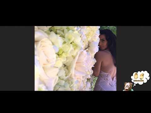 Kim Kardashian e Kanye West scatenatissimi su Instagram durante le nozze