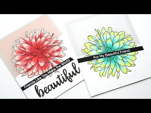 Creating Vellum Cards with Partial Die Cutting
