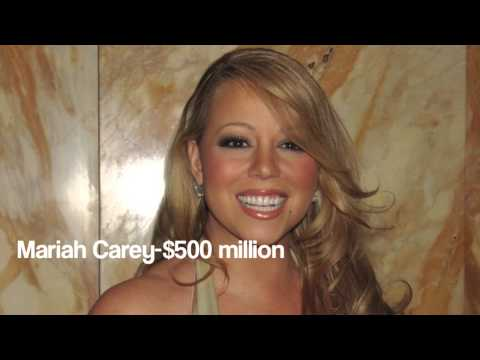 Top 10 Richest Singers in the World 2017 [HD]