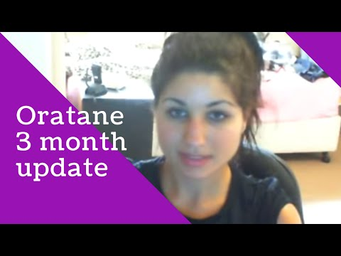 3 Month Accutane (Oratane) Update  Acne Medication Treatment