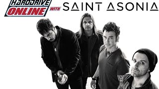 "Saint Asonia performs ""Better Place"" acoustic in hardDrive Studios"
