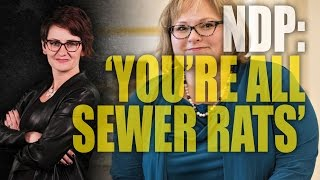 """Sewer rats"": Alberta NDP insults citizens again"