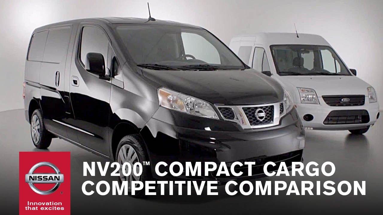 Nissan Nv Passenger Van >> Nissan NV200™ Compact Cargo Competitive Comparison - YouTube
