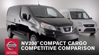Nissan NV200™ Compact Cargo Competitive Comparison