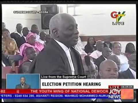 2012 Election Petition Hearing - Day 19 (20-5-13)