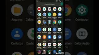 Moto G6 (comum) rodando Android 9 pie oficial da Motorola