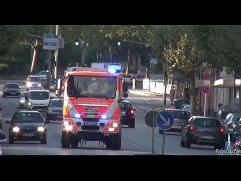 [FW 1] 65x Feuerwehr Wiesbaden | 38 Minuten Alarmfahrten (Einsatzfahrten)
