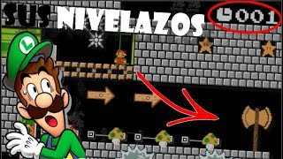ESTOS NIVELAZOS HACEN DE LA SUYA 😵   Subs Nivelazos :V   Super Mario Maker