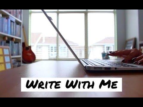 Write With Me (Camp NaNoWriMo 2018) | Writing Vlog #001