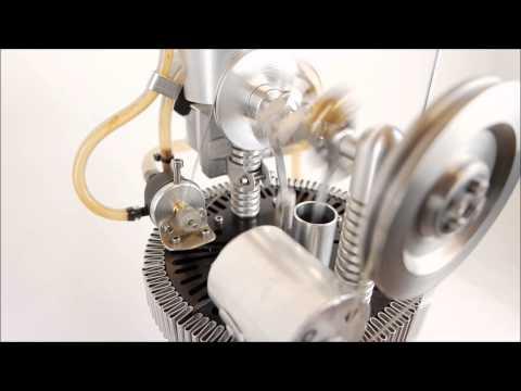 Strirling Engine Radio Generator