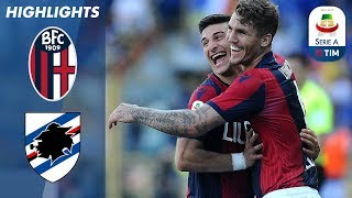 Bologna 3-0 Sampdoria | Massive Win Boosts Survival Hopes | Serie A