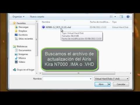 Videotutorial: Instalación de Android en Airis Kira N7000