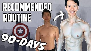 Reddit Bodyweight Fitness Recommended Routine (Updated Version) | 90-Day Transformation!
