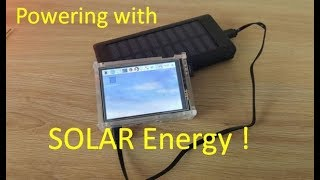 DIY Solar Powering Laptop - Autonomous / Survivalist - 80€ - 90$