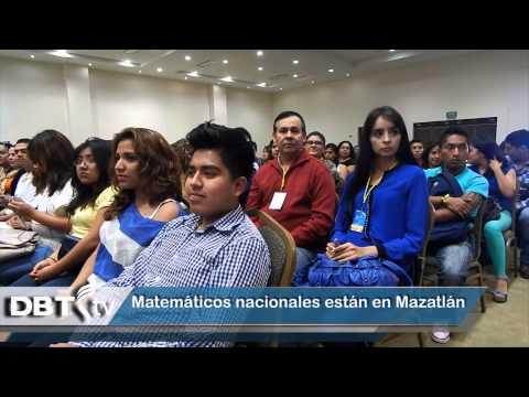 Matemáticos nacionales están en Mazatlán