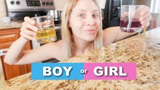 TESTING OLD WIVES TALES | ARE WE HAVING A BOY OR GIRL?! | Lauren Self