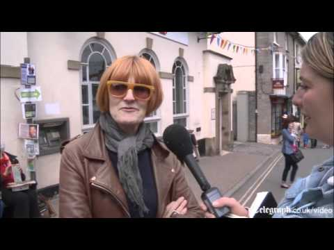 Mary Portas talks retail at Hay Festival 2012