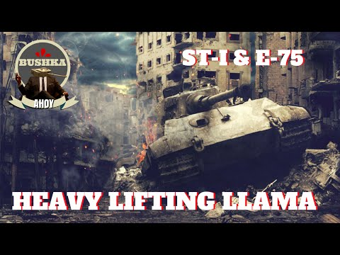 A Guide to Heavy LIfting Llama E75 ST 1 World of Tanks Blitz