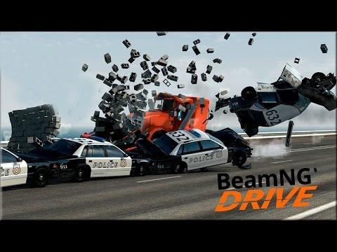 САМЫЕ ГЛУПЫЕ АВАРИИ! - BeamNG.Drive