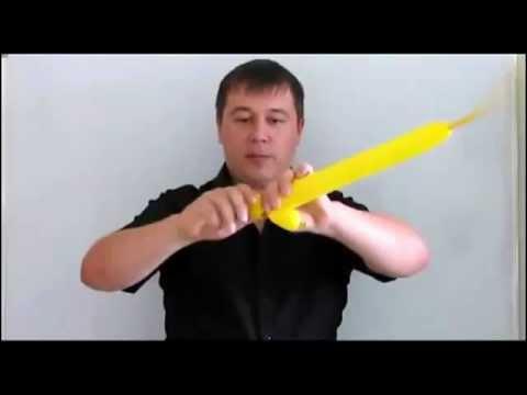 Как сделать из шарика фигурки