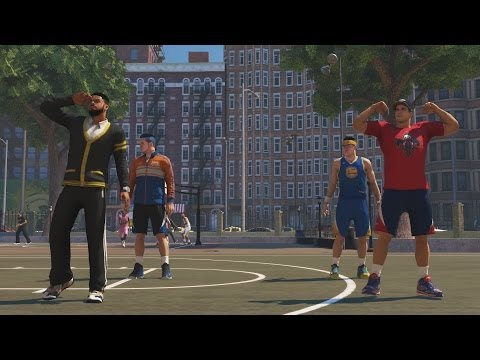 NBA 2K14 Next Gen MyCAREER FACECAM Tag Team on Park PS4
