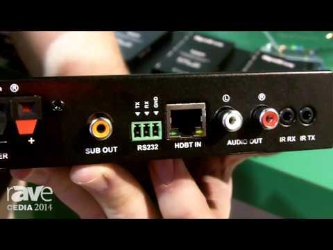CEDIA 2014: WyreStorm Shows the HDBaseT Class D Amplifier