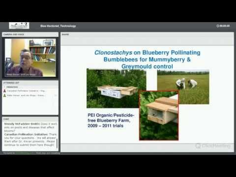 Bee-Vectored BioControl Technology Webinar - December 4, 2014