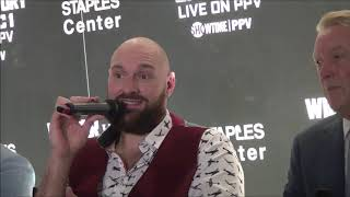 Tyson Fury Media Interview, October 2, 2018
