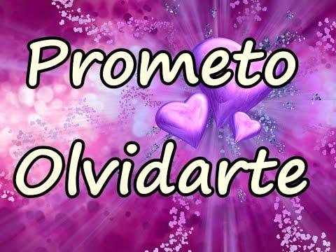 Prometo Olvidarte - Letra
