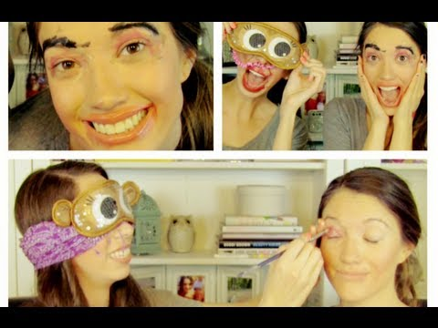 The Blindfolded Makeup Challenge! Blair & Anne Marie :)