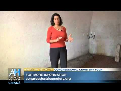 American Artifacts: Congressional Cemetery Public Vault & Dolley Madison