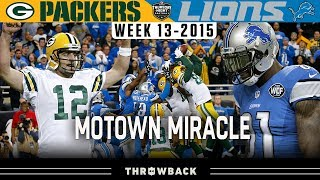 """Miracle in Motown"" (Packers vs. Lions 2015, Week 13)"