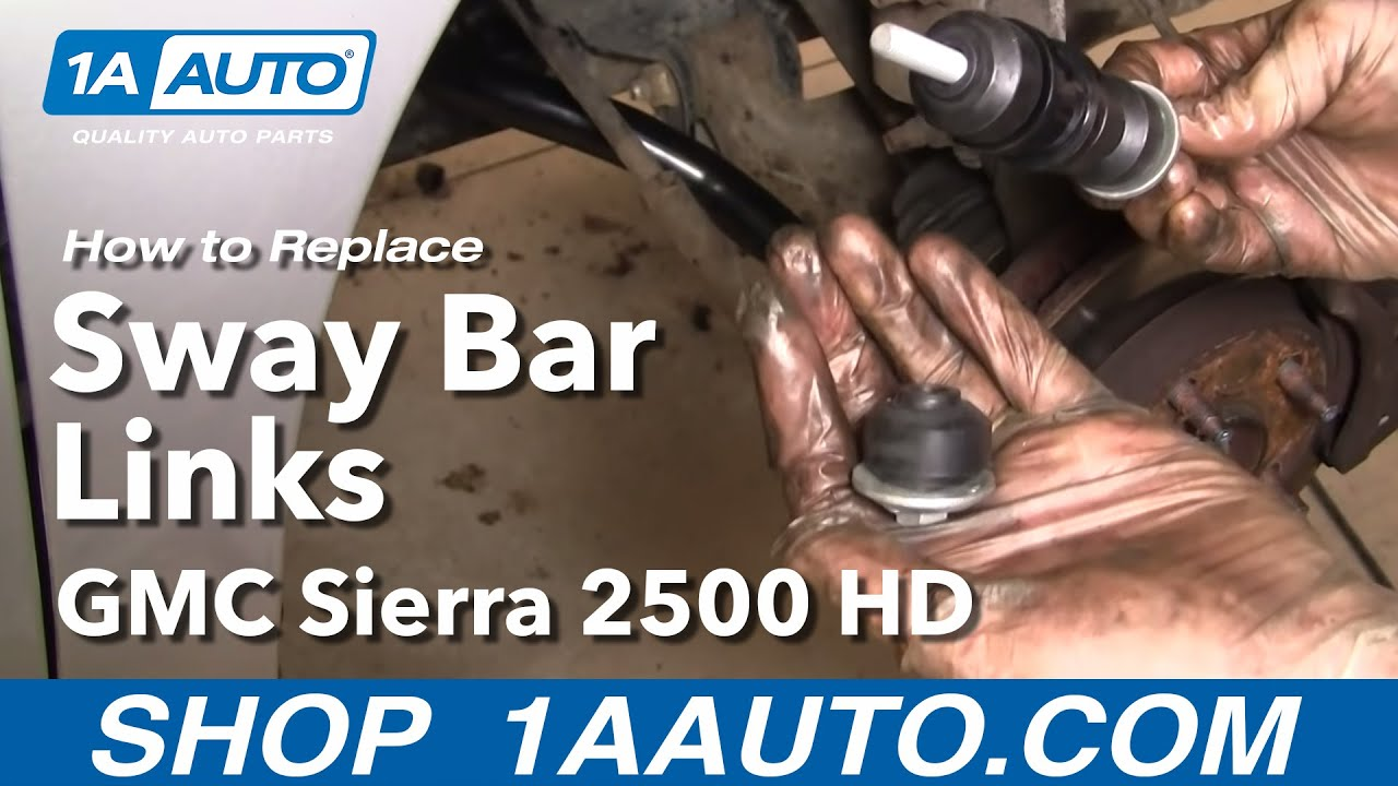 How To Install Replace Broken Sway Bar Impala Venture