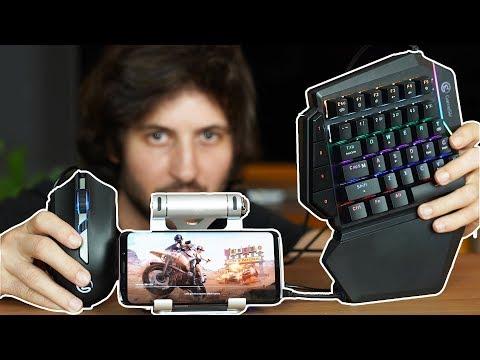 PUBG MOBILE oynamanın EN KOLAY yolu! Gamesir Klavye + Mouse + Gamepad mercek altında!