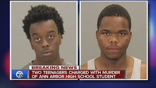 Two teens charged in Ann Arbor murder