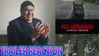 Pet Sematary (2019) TRAILER REACTION AND REVIEW!!!