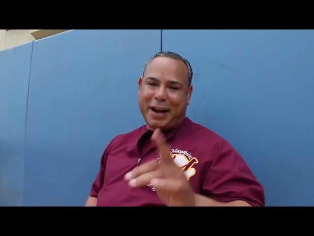 Carlos Baerga nos habla de los Indios