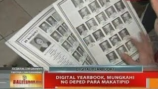 BT: Digital yearbook, mungkahi ng DepEd para makatipid