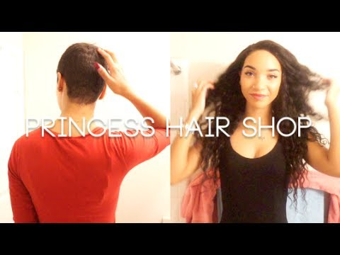 HAIR| 2 Ways to Install Weave on Shaved Head (PrincessHairShop)