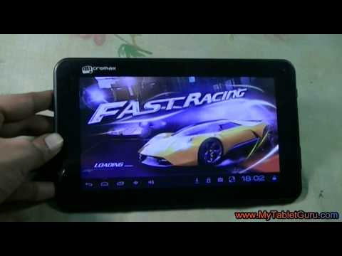 Gaming review of Micromax Funbook P255 Tablet
