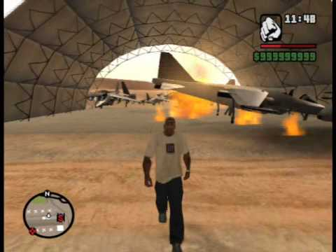 Gta San andreas Hydra Stunts Video